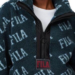 FILA Jayla Sherpa Half Zip